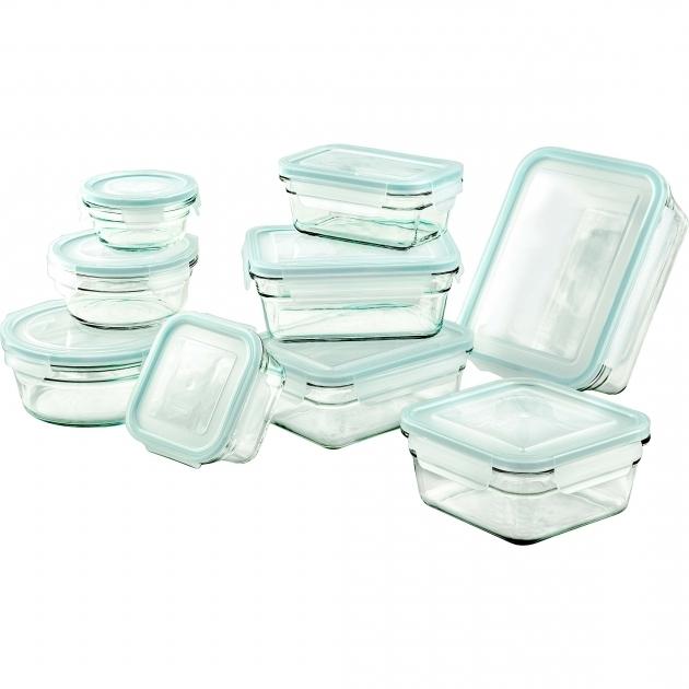 Best Glasslock 18 Piece Glasslock Storage Container Set Reviews Wayfair Glasslock Food Storage Container Sets