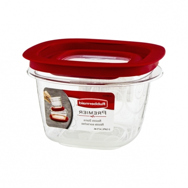 Best Rubbermaid 16 Oz Premier Square Food Storage Container Walmart Rubbermaid Premier Food Storage Containers