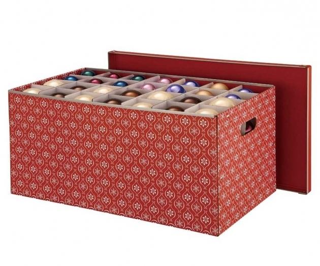 Best Simple Transparent Plastic Ornament Storage Container Keep Container Store Ornament Storage