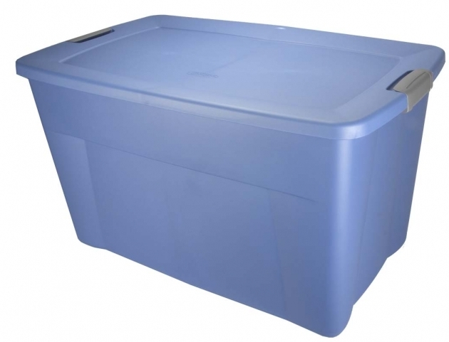 Best Sterilite 19451004 35 Gallon Storage Tote Box Wlatching Container Bins