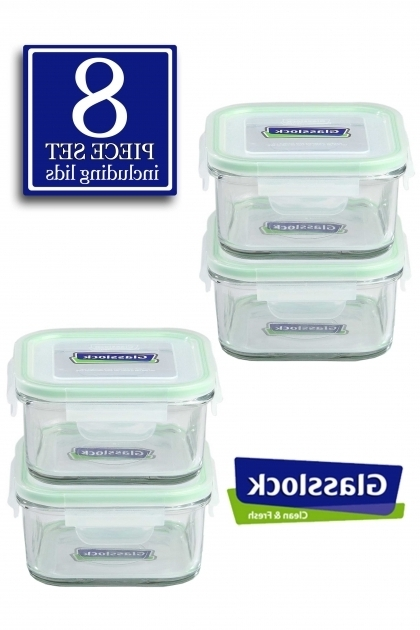 Best The Glass 10 Piece Rectangular Food Storage Container Set Glasslock Food Storage Container Sets