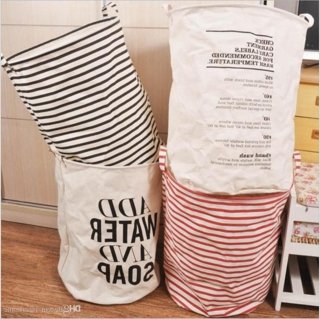 Fantastic 2017 Clothing Storage Baskets Bins Kids Room Storage Bags Toys Clothing Storage Bins