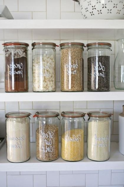 Fantastic 25 Best Ideas About Kitchen Storage Jars On Pinterest Kitchen Best Glass Food Storage Containers