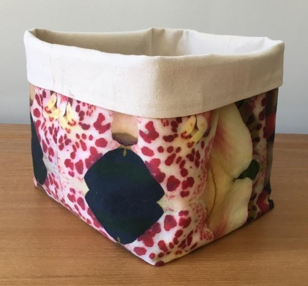 Fantastic Sale Pink Large Soft Fabric Basket Bucket Storage Bin Soft Soft Storage Bins