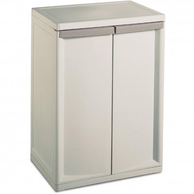 Fantastic Sterilite 2 Shelf Storage Cabinet Walmart