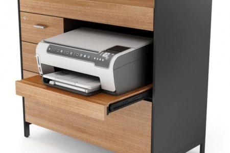 Printer Storage Cabinet