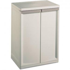 Sterilite 2 Shelf Storage Cabinet