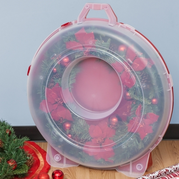 Fascinating Wreath Storage Container In Holiday Wreath Storage 36 Inch Wreath Storage Container