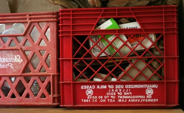 Gorgeous Why Its Illegal To Use Milk Crates For Anything Besides Milk Milk Crate Storage Bin