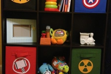 Superhero Storage Bins