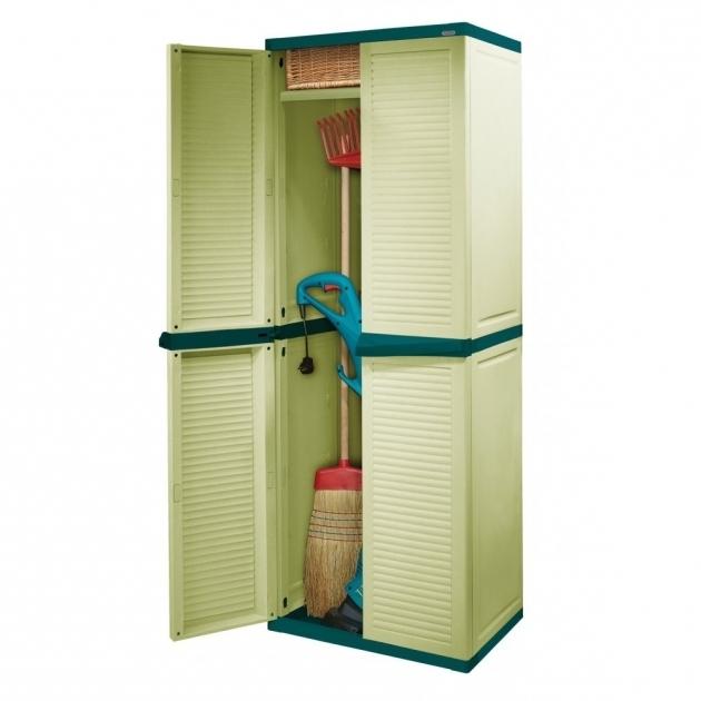 Image of Enchanting Vertical Grey Steel Rubbermaid Storage Cabinet 5 Rubbermaid Outdoor Storage Cabinets
