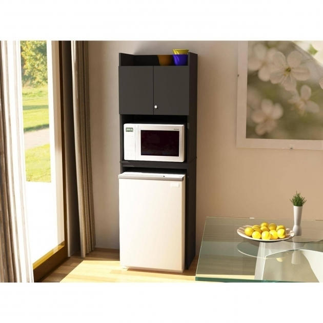 Image of Refrigerator Storage Black Stipple Walmart Mini Fridge Storage Cabinet