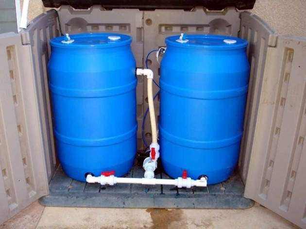 55 Gallon Water Storage Drum Listitdallas