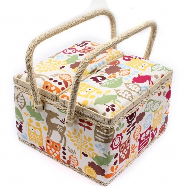 Image of Sewing Boxes Baskets And Storage Hobcraft Sewing Storage Containers