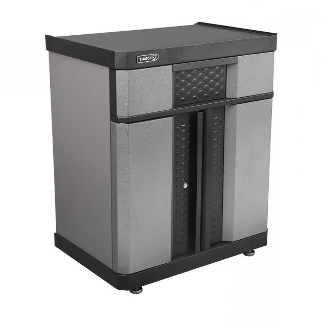 Image of Shop Kobalt 30 In W X 365 In H X 205 In D Steel Freestanding Or Kobalt Storage Cabinet