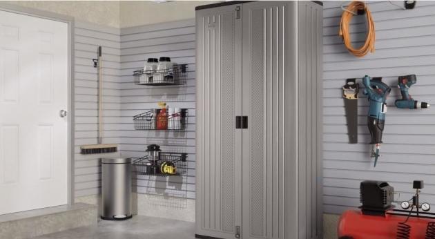 Image of Suncast Mega Tall Storage Cabinet Youtube Suncast Tall Storage Cabinet