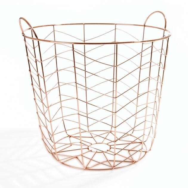 Image of Turn A Wire Basket Into A Stylish Storage Solution Kmart House Kmart Storage Cabinet