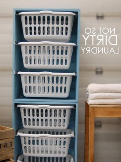 Incredible Portable Laundry Room Storage Unit Hgtv Clothing Storage Bins
