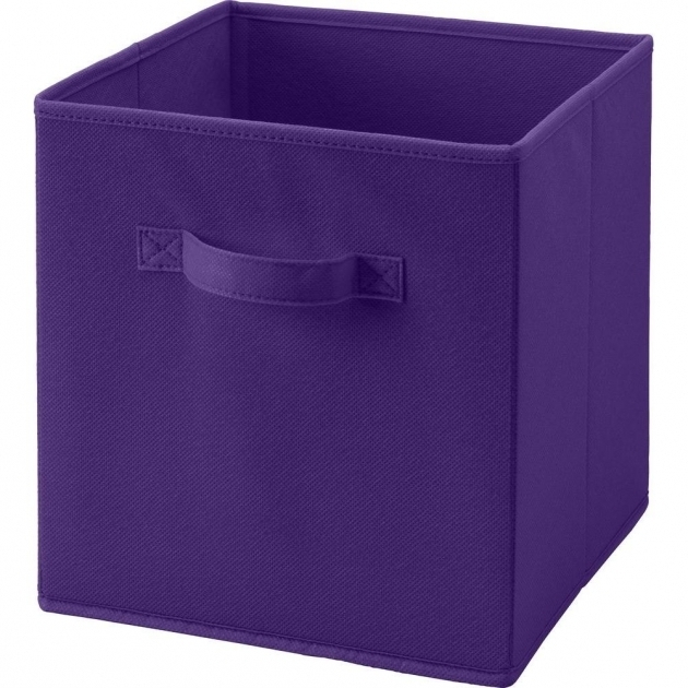 Incredible Purple Bins Baskets Cube Storage Accessories Purple Storage Bins