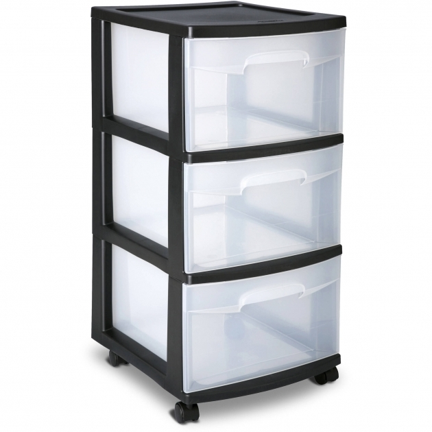 Incredible Sterilite 3 Drawer Wide Cart White Walmart Storage Containers With Drawers