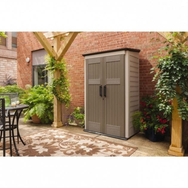 Inspiring Contemporary Outdoor Storage With Large Vertical Storage Shed Rubbermaid Outdoor Storage Cabinets