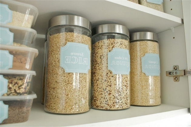 Inspiring Glass Pantry Storage Containers With 3pc Round Glass Jar And Best Glass Storage Containers