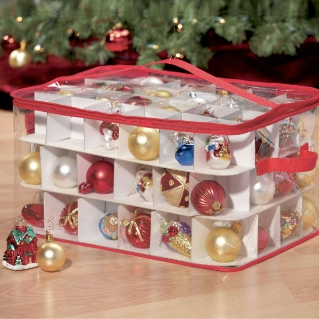Inspiring Simple Transparent Plastic Ornament Storage Container Keep Container Store Ornament Storage