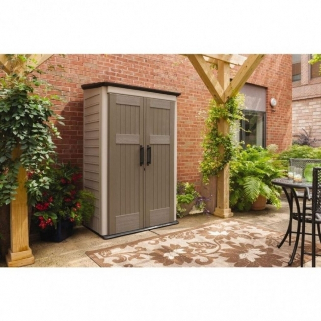 ... Marvelous Rubbermaid Outdoor Storage Cabinet The Landscape Design  Rubbermaid Outdoor Storage Cabinets ... - Alluring Shop Small Outdoor Storage At Lowes Rubbermaid Outdoor