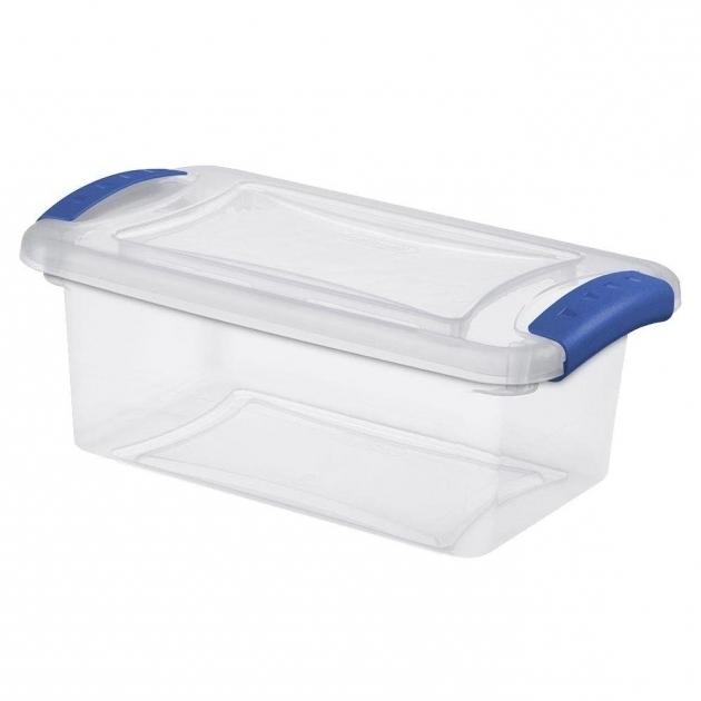 Marvelous Sterilite 7 Qt Latch Storage Box 14 Pack 19220414 The Home Depot Sterilite Storage Bins