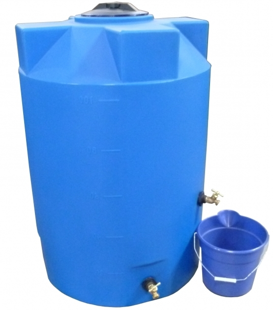 Picture of 100 Gallon Emergency Water Storage Tanks Poly Mart Prepper 55 Gallon Water Storage Containers