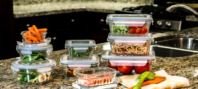 Picture of Home Glasslock Usa Glasslock Food Storage Container Sets