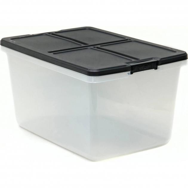 Picture of Large Storage Bins Walmart Com Hefty 66qt Latched Box Capacity Hefty Storage Bins