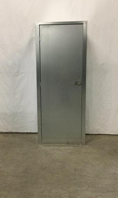 Picture of Metal Storage Cabinet Single Door Premier Door Company Metal Storage Cabinets With Doors
