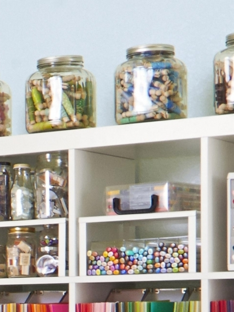Remarkable 12 Creative Craft Or Sewing Room Storage Solutions Diy Sewing Storage Containers