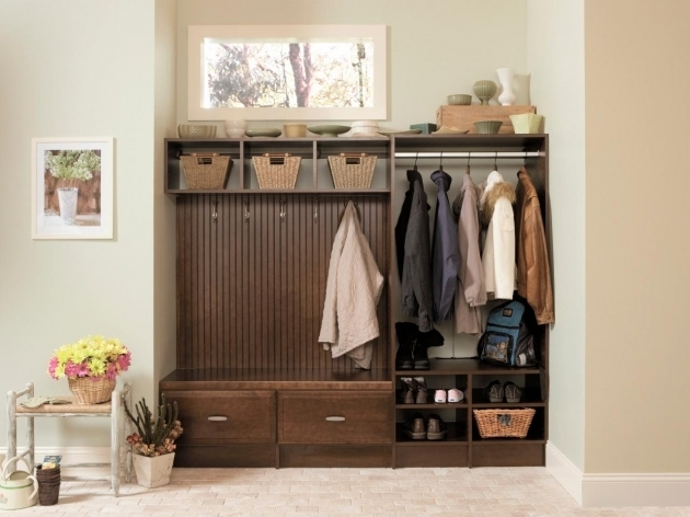 Remarkable Shelves And Benches For Mudrooms Hgtv Mudroom Storage Cabinets