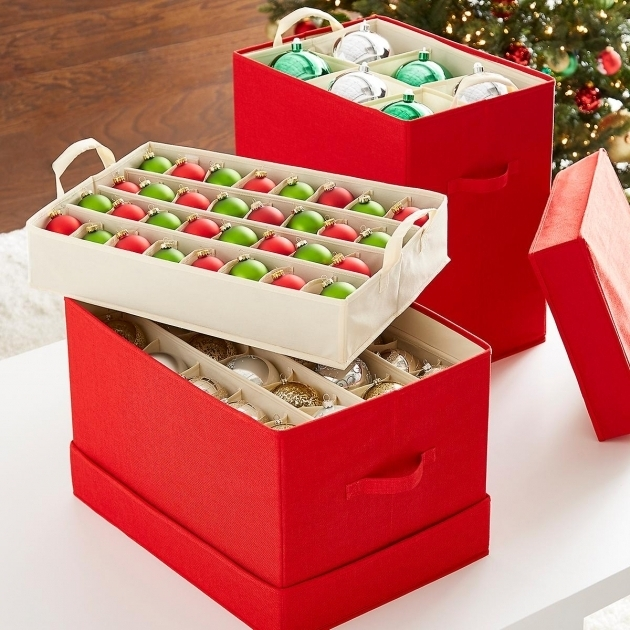 Remarkable Simple Transparent Plastic Ornament Storage Container Keep Container Store Ornament Storage