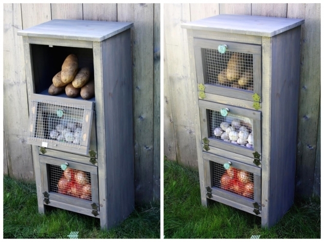 Stunning Ana White Vegetable Bin Cupboard Diy Projects Wooden Vegetable Storage Bin