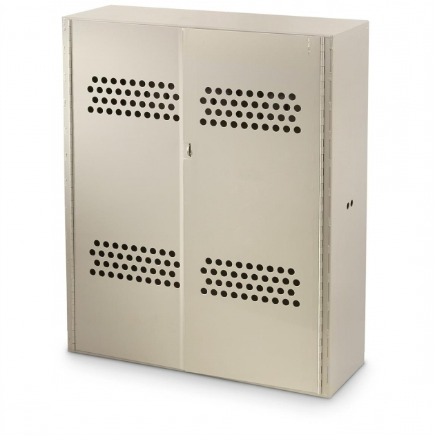 Stunning Us Military Surplus Metal Gun Cabinet Used 658553 Storage Used Metal Storage Cabinet