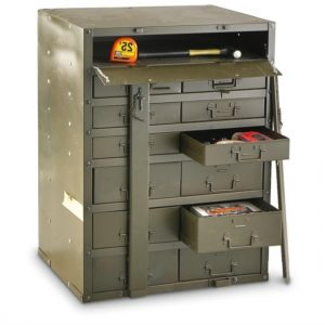 Used Metal Storage Cabinet