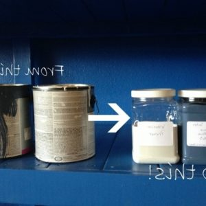 Paint Storage Containers