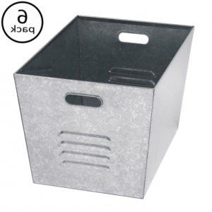 Galvanized Metal Storage Bins