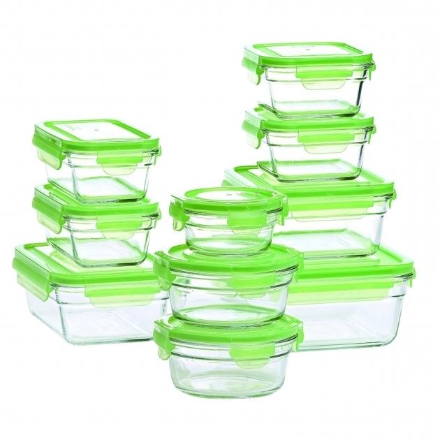 Stylish Glasslock Glasslock 20 Piece Storage Container Set Reviews Wayfair Glasslock Food Storage Container Sets