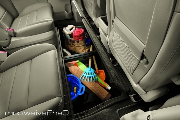 Stylish Vw Routan Under Floor Storage Bins Car Reviews And News At Car Storage Bins