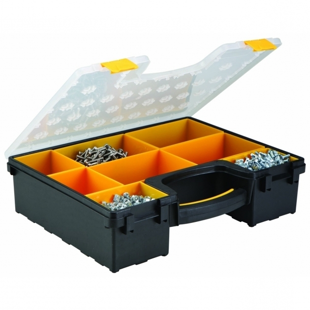 Alluring 8 Bin Large Portable Parts Storage Case Storage And Cases Harbor Freight Storage Bins