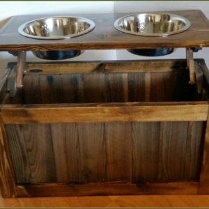 Dog Food Storage Cabinet