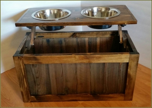 Alluring Dog Food Storage Cabinet With Bowls Home Design Ideas Dog Food Storage Cabinet
