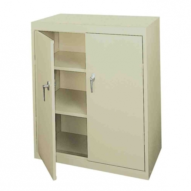 Metal storage cabinet single door metal cabinet single for Metal cabinet doors kitchen