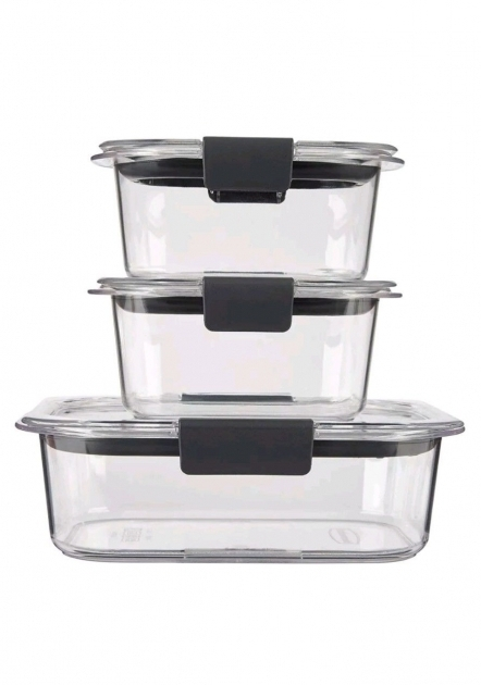 Alluring Rubbermaid Brilliance Food Storage Container Bpa Free Plastic 6 Rubbermaid Brilliance Food Storage Container