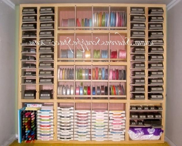 Alluring Sharon39s Scrappy Space Punch Storage Premier Scrapbook Design Scrapbook Storage Cabinets