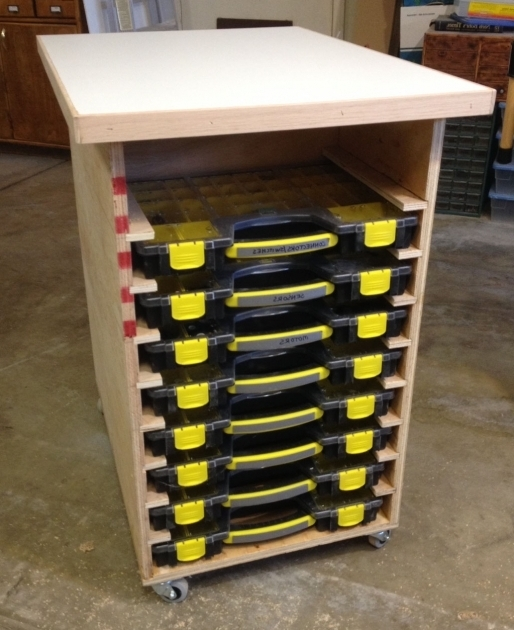 ... Amazing Those Case Racks In Adams Cave Tested Harbor Freight Storage  Bins ...